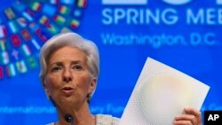 Christine Lagarde, directora-geral do FMI