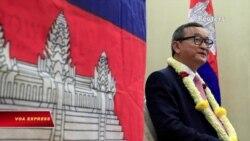 Lãnh đạo đối lập kêu gọi quốc tế cắt quan hệ với chính phủ Campuchia