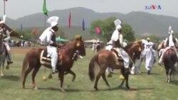 اسلام آباد میں نیزہ بازی کے مقابلے