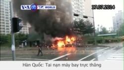 Tai nạn máy bay trực thăng ở Hàn Quốc (VOA60)