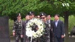 [영상취재] 북한자유주간 개막, 한국전 기념공원서 헌화식