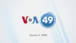 VOA60 America - Trump Says He'll Impose Sanctions on Iraq if US Forces Are Expelled