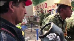 Foreign Crews Help Rescue Efforts in Quake-hit Mexico