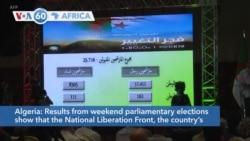 VOA60 Africa - Algeria's National Liberation Front wins parliamentary elections