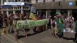 'Yokoluş İsyanı' Hareketinden G7 Zirvesine Protesto