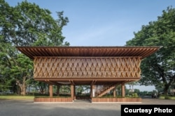Desain Microlibrary Warak Kayu di Semarang. (Foto courtesy: Kei/fotografer SHAU Indonesia)
