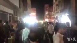 حمایت اهوازیها از مردم معترض در خرمشهر | فیلم ارسالی