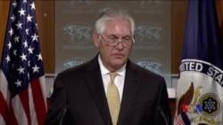 蒂勒森喊話北韓:我們不是你們的敵人