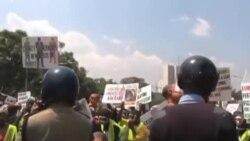 内罗毕警察镇压抗议示威