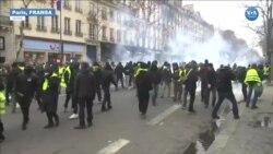Franda'da 'Flash-Ball' Kararının Gölgesinde Sarı Yelekliler Protestosu