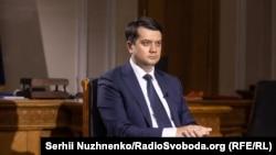 На фото: Дмитро Разумков