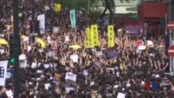 香港繼續爆發大規模遊行 爭取中國遊客支持