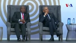 Obama lors de son hommage à Mandela (vidéo)