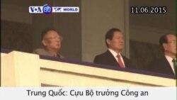 Cựu Bộ trưởng Công an Trung Quốc bị tuyên tù chung thân (VOA60)