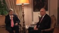 克里抵达埃及 与政府官员及反对派会晤