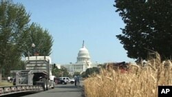 The National Association of Wheat Growers brought a wheat field to Washington as part of a campaign to convince policymakers to rethink environmental regulations.