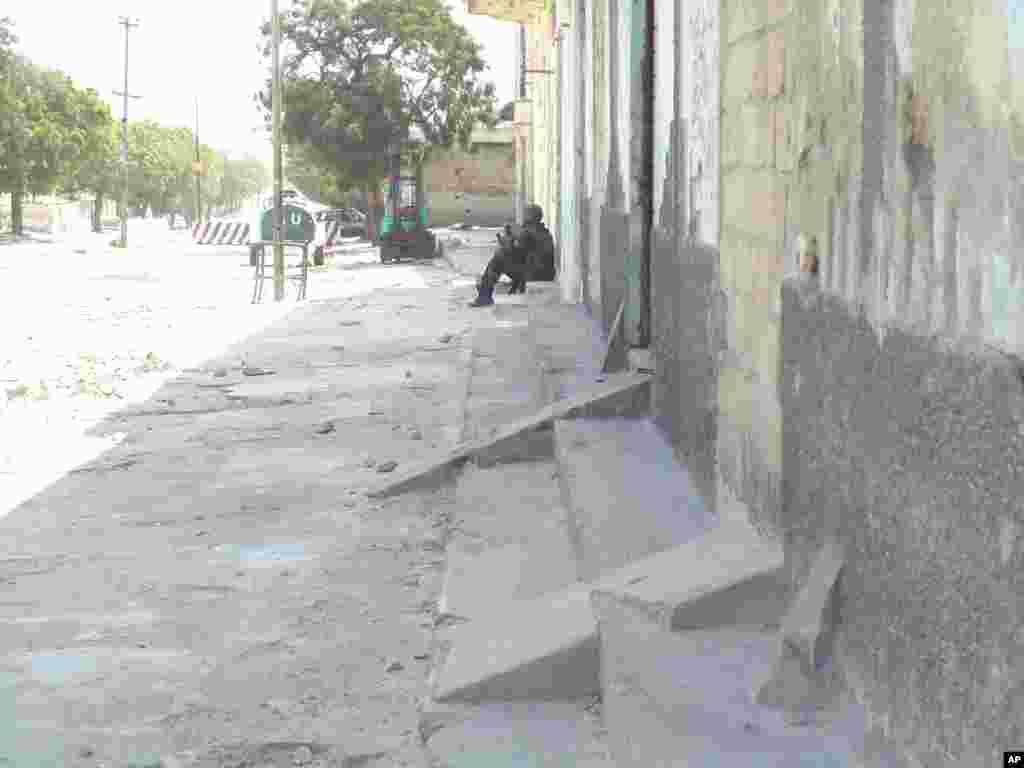 Askari ka tirsan AMISOM oo ku sugan Wadada Maka Al-Mukarama
