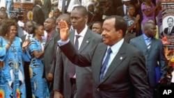 Shugaba Paul Biya mai mulkin kasar Kamaru tun shekarar 1982.