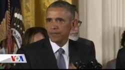 Obama'dan Silah Şiddetine Karşı Hamle