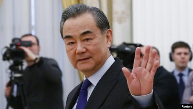 """王毅:台湾选举不会改变一中原则,""""分裂国家,注定遗臭万年"""""""