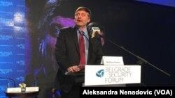 Zamenik pomoćnika američkog državnog sekretara Metju Palmer na Beogradskom bezbednosnom forumu