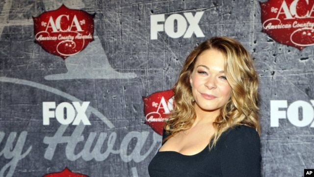 Singer LeAnn Rimes arrives at the American Country Awards on Dec. 10, 2012, in Las Vegas.