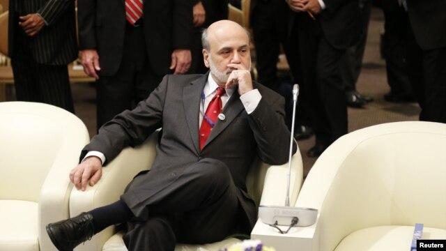 Šef Federalnih rezervi Ben Bernanki