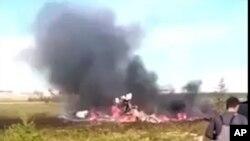 Mesto nesreće u regionu Krasnojarsk u Sibiru