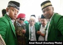 Kyai Haji Maimun Zubair, Pimpinan PP Al-Anwar Sarang, Rembang yang juga Ketua Majelis Syariah PPP (courtesy: Amal Rosuli)
