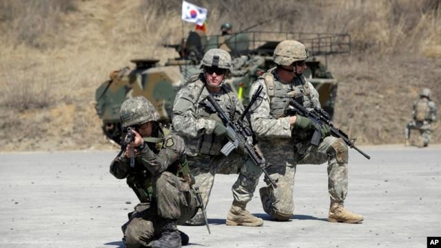 South Korea US Military Drill