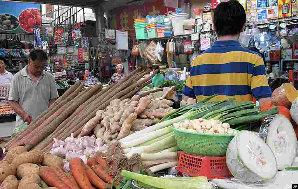 北京的菜市