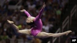 Los padres de Kyla la inscribieron en clases de gimnasia, pero no pensaron que llegaría a las olimpiadas.