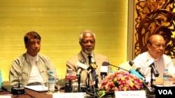 Kofi Annan ေကာ္မရွင္ကို ရခိုင္လႊတ္ေတာ္ ကန္႔ကြက္ခဲ႔ေသာ္