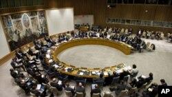 聯合國安理會舉行會議