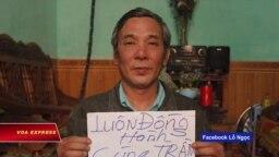 Gia đình ông Lê Đình Lượng kêu cứu trước phiên tòa ngày 30/7