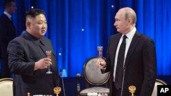 Kim Jong Un viajó a Rusia con la intención de pedir un alivio de las sanciones que están castigando a su economía.