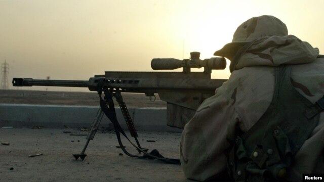 """Más conocido como """"El Diablo"""" Chris Kyle mató a 150 rebeldes según el Pentágono."""