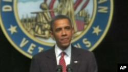 Обама: САД ќе ги повлечат борбените трупи од Ирак според предвиденото