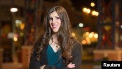 当选为维吉尼亚州州众议员的跨性别者丹尼卡·罗姆。