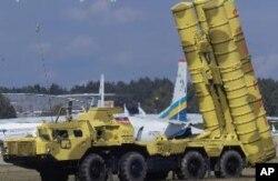 Sistema de defesa anti-aérea russo - modelo usado pelas forças de Kadhafi