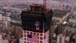 Tòa nhà dân cư chọc trời mọc lên ở New York