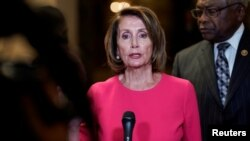 La presidenta de la Cámara de Representantes, Nancy Pelosi, no asistirá al almuerzo convocado por Trump.
