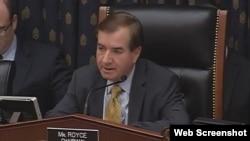 اد رویس رئیس کمیته امور خارجی مجلس نمایندگان آمریکا یکی از منتقدان پرداخت به ایران است.