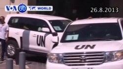 Thanh sát viên LHQ điều tra vũ khí hóa học bị nhắm bắn tại Syria