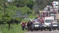 Meksik Deplwaye Gad Nasyonal pou Limite Flo Imigran Santral Ameriken yo