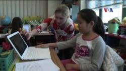 Trẻ em Mỹ được khuyến khích tập làm nhà văn