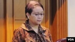 Menteri Luar Negeri Indonesia Retno Marsudi (foto: VOA/Fathiyah Wardah).