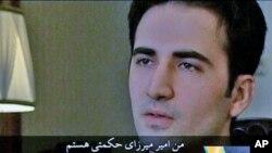 امیر میرزایی حکمتی شهروند آمریکایی ایرانی تبار که به اتهام جاسوسی در ایران زندانی است