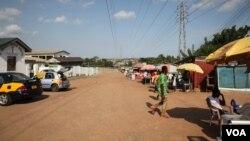 Buduburam, Ghana.