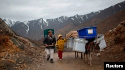 La vallée de la rivière Panjshir en Afghanistan